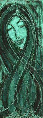 2.Green-Lady